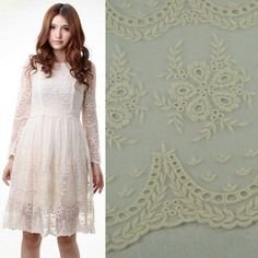 1 Yard Vintage Ivory Tulle Embroidery Lace Fabric Wedding Dress Lace Flower Fabric Scalloped Edge. $33.00, via Etsy. Lace Flowers, Fabric Flowers, Wedding Fabric, White Dress, Dress Lace, Lace Fabric, Tulle, Ivory, Scalloped Edge