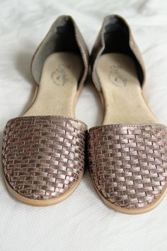 Stitch Fix Seychelle Eager Woven Toe D'Orsay Flat (March 2016)  LOVE LOVE LOVE! I want these!!!