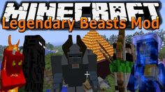 Minecraft 1.6.2 - Legendary Beast Mod - How to Add New Bosses