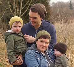 Free knitting pattern for Barley Hat for the Whole Family - Tin Can Knits designed this easy hat pattern that adds style by contrasting panels of garter stitch and stockinette. Sizes for the whole family from Baby to Adult Large. Knitting Patterns Free, Knit Patterns, Free Knitting, Baby Knitting, Free Pattern, Knitting Machine, Knitting Needles, Knit Crochet, Crochet Hats