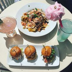 Pin for Later: The Best Disneyland Foods Worth Sitting Down For Lobster nachos and cotton candy lemonade at Cove Bar