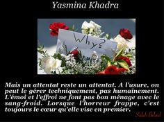 La Pensée Du Jour: L'Attentat. (Yasmina Khadra ) Yasmina Khadra, Thinking About You, D Day