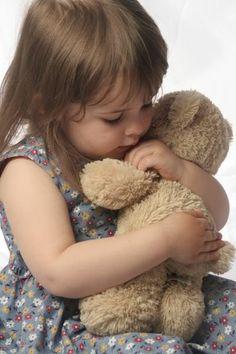 Ssshhh... Teddy bear is sleeping.