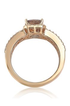 Chocolate Diamond Wedding Rings, Bridal Rings, Princess Cut, Rose Gold Plates, Band Rings, Halo, Vintage Jewelry, Engagement Rings, Alone