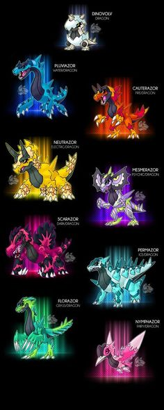"""-Dragon -The Hatchling pokemon -Ability:Shell Armor/Weak Armor - Protean(HA) -Dex: """"This pokemon genetic code is unstable, so even after hatching from. Pokemon Fusion Art, Pokemon Fan Art, Oc Pokemon, Pokemon Fake, Pokemon Memes, Pokemon Pokedex, Zoroark Pokemon, Charmander, Digimon"""
