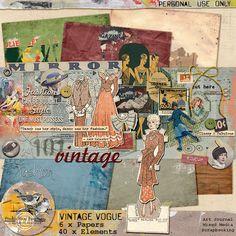 Vintage Vogue Full Kit by Studio Sissy