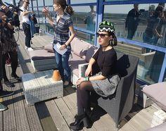 Interview for Eurovision TV  Dress @nadyadzyak  #джамала #jamala #eurovision #jamala1944 #sweden #eurovision_ukraine #galaxys7 #cometogether by jamalajaaa #Eurovision #Eurovision2016