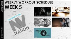 July 5th, June, Weekly Workout Schedule, Week 5, Fun Workouts, How To Plan, Tv, Television Set, Television