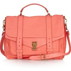 Proenza large leather satchel - I'm strangely attracted to the color!