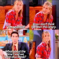Ross and Rachel hahaha Friends Moments, Friends Tv Show, Friends Forever, Friends Scenes, Tv Show Quotes, Movie Quotes, Life Quotes, Ross Geller, Friend Mugs