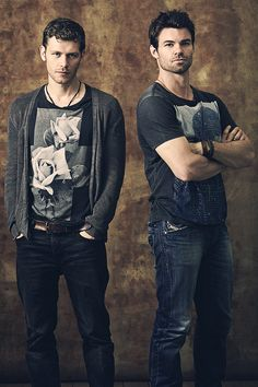 Klaus and Elijah - Joseph Morgan and Daniel Gilles - The Originals
