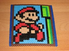 Mario, perler beads