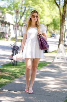little white sundress #fashionpost #styleblog #outfit #summerstyle