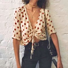 Minimal Fashion, Minimal Style, Bohemian Style, Boho, Blouse Styles, Going Out, Summer Outfits, Chiffon, Street Style