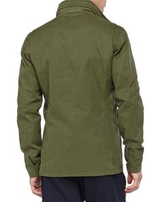 3-in-1 Military Jacket, Green