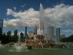 bf-26 Buckingham Fountain, Burj Khalifa, Building, Travel, Viajes, Buildings, Destinations, Traveling, Trips