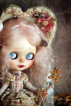 "The little ogress by Rebeca Cano ""Cookie dolls"", via Flickr"