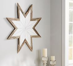 Driftwood Star Wall Art   Pottery Barn Maybe for back porch?