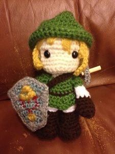 Link - free crochet video game amigurumi patterns