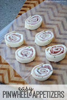 Easy Ham Pinwheel Ap