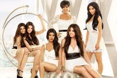 Keeping Up With The Kardashians...must admit this show is one of my guilty pleasures! LOL