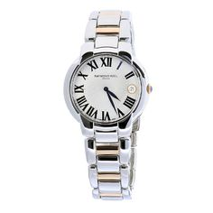 Women's Wrist Watches - Raymond Weil Womens 5235S500659 Jasmine TwoTone Steel Bracelet Watch >>> Read more reviews of the product by visiting the link on the image. (This is an Amazon affiliate link)