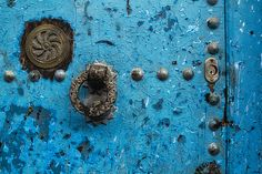 Aged Moroccan Door by Lindley Johnson