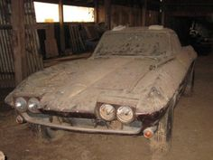 1964 Chevy Corvette Barn Find http://www.barnfinds.com/1964-chevy-corvette-barn-find/