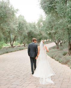 Bride & Groom // Aaron Delesie Photographer // San Ysidro Ranch // Planning: Lisa Vorce at Oh, How Charming!