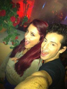 Ariana Grande & Frankie! :D