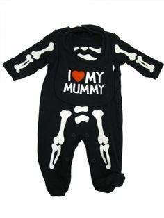 Carter's Baby Boys Skeleton Halloween Bodysuit « Blast Gifts