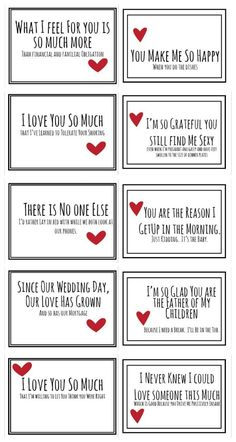 Realistic Valentines for you husband free prinable #giftsformom
