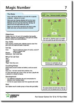 Informations About Fun Soccer Games For 12 to 15 Year Olds - Soccer Coach Weekly Pin You can easily Fun Soccer Games, Soccer Drills For Kids, Football Drills, Best Football Players, Soccer Skills, Soccer Moms, Kids Football, Kids Soccer, Kids Sports