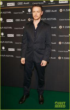 James McAvoy : Zurich Film Festival 2013!