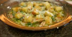 Groentesoep met pistou en croutons | Dagelijkse kost