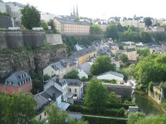 View of Old town Luxembourg