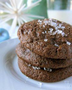 Valentine's Chocolate Mocha Cookies