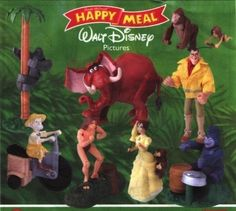 """Tarzan"" Action Figures (1999) 