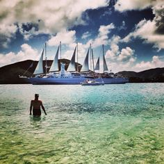 Sailing with Windstar