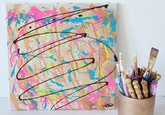 Painting 10. $35.00, via Etsy.