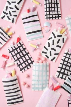 Pattern on Pattern: DIY Painted Favor Bags for Every Occasion