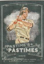 2014 Topps Allen Ginter Baseball Pastimes #PP-CD Chris Davis, Baltimore Orioles