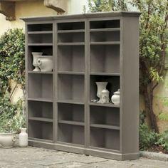 "$3000 - Josephina 3 Piece Flush Wall Unit | Ballard Designs Overall: 83""H X 101 1/8""W X 15""D"