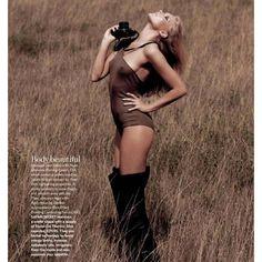 Elsa Hosk: sexy safari > Fashion Photo Shoots ❤ liked on Polyvore