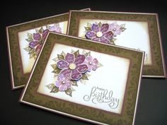 Vintage Vogue Birthday Card by Lianne Carper - Cards and Paper Crafts at Splitcoaststampers