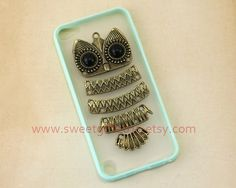 Cute owl Ipod Touch 5 Case Samsung Galaxy S2 / S3 by sweetgift2013