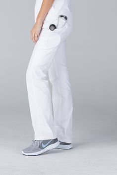 Premium Stretch Scrubs for Women White Scrubs, Womens Scrubs, Scrub Pants, Sweatpants, Fashion, Moda, Fashion Styles, Fashion Illustrations