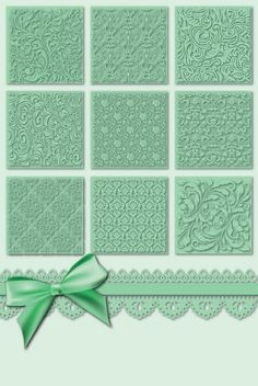 gride of inchies with different embossing folder texttures .I like the layout but would use some stamped inchies in alternate squares. Cute Cards, Diy Cards, Pocket Letter, Inchies, Patchwork Cards, Art Carte, Card Making Techniques, Embossing Techniques, Embossed Cards
