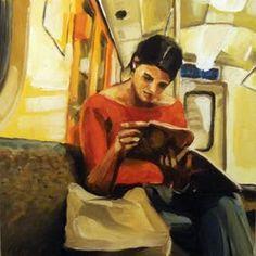 Edward B. Gordon: Reading on the Train II