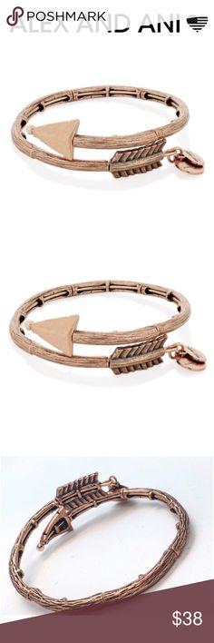 Alex and Ani Ero Arrow Wrap NWT. #valentinesday Alex and Ani Jewelry Bracelets